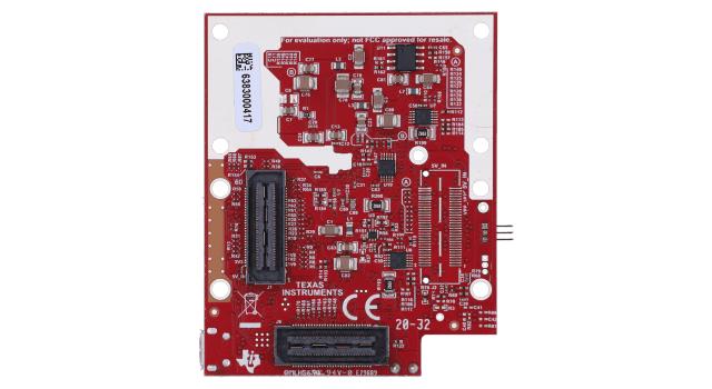 IWR6843ISK-ODS IWR6843 intelligent mmWave overhead detection sensor (ODS) antenna plug-in module board image (top)