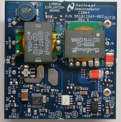 LM5026EVAL/NOPB-Active Clamp Current Mode PWM Controller - TI store image
