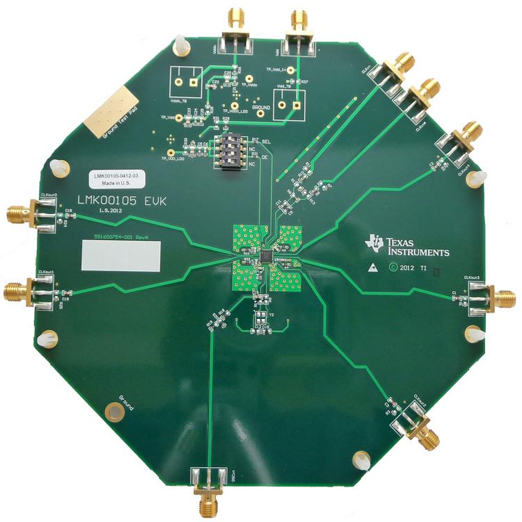 LMK00105 Evaluation Module