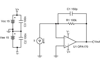 circuit0020 transimpedance amplifier circuit ti comtransimpedance amplifier circuit