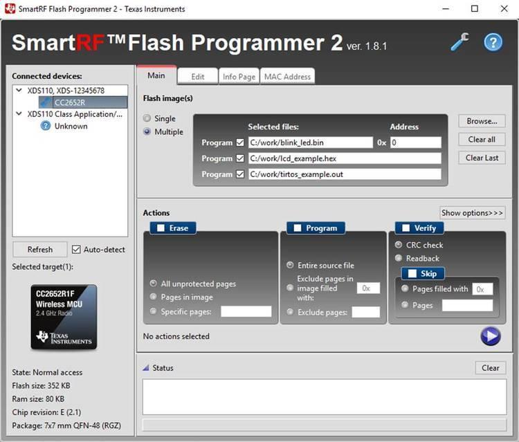 Flash Programmer Smartrf Flash Programmer Ti Com