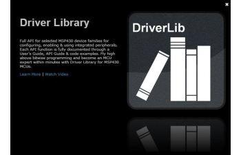 MSPDRIVERLIB MSP Driver Library | TI com