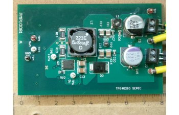 Pmp10081 20w Sepic Low Cost Lead Acid Battery Charger Reference Design Board Image