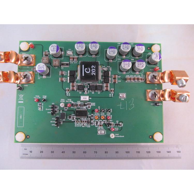 PMP21697 Variable voltage power converter 5-35-V 300-W peak