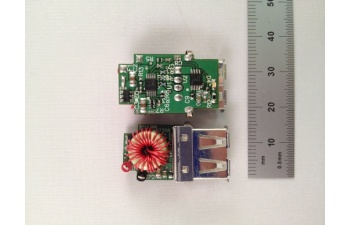 Pmp7388 9 40v automotive input 5v21a smart usb charger reference top view ccuart Image collections
