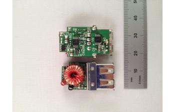 Pmp7388 9 40v automotive input 5v21a smart usb charger top view ccuart Images