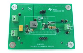 PMP9772 Low Input Voltage High Current Boost Converter Reference