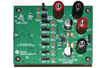 TAS5722LEVM TAS5722L Digital Input Mono Class-D Audio