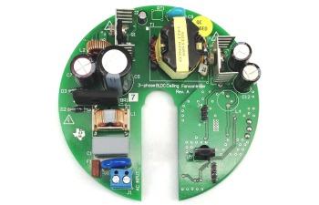 Tida 00386 bldc ceiling fan controller with sensorless sinusoidal tida 00386 board image aloadofball Gallery