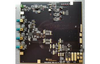 ADAS Reference design for four camera hub with integrated ISP and DVP outputs
