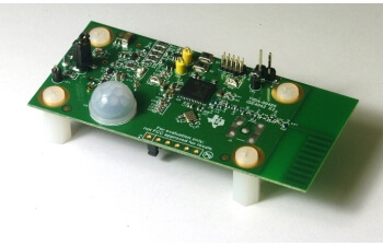 Low power Sub-1 GHz wireless PIR motion detector reference design enabling 10 year coin cell battery life