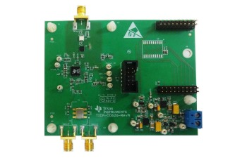 TIDA-00626 9.8GHz RF CW Signal Generator Using Integrated Synthesizer With Spur Reduction Reference Design Board Image