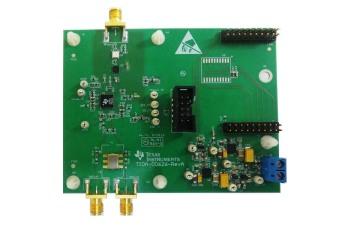 采用集成式合成器和杂散抑制技术的 TIDA-00626 9.8GHz 射频 CW 信号发生器参考设计电路板图像