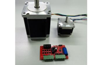 Drv8711 stepper motor gate driver with on chip 1 256 micro for Ti stepper motor driver