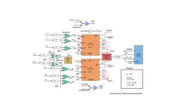 TIDA-00835 High Accuracy ±0.5% Current and Isolated Voltage Measurement Reference Design Using 24-Bit Delta-Sigma ADC Block Diagram Image