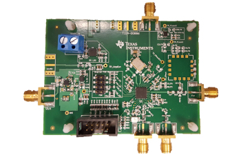 TIDA-00886 Low Power RF PLL-Synthesizer operating from a Single Cell Battery Reference Design Board Image