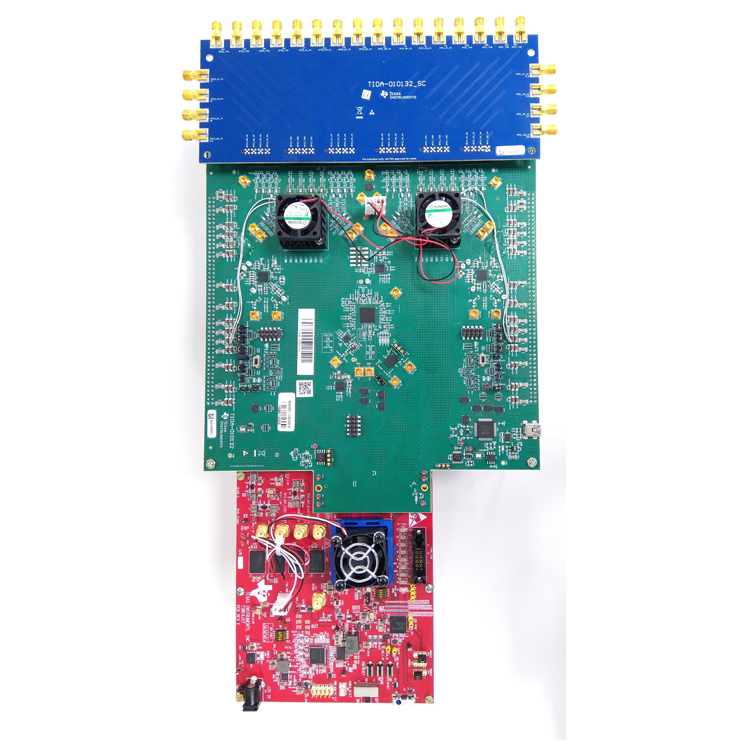 TIDA-010132 Multichannel RF transceiver reference design for radar