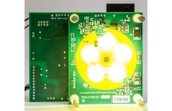 TIDA 01081 LED Lighting Control Reference Design For Machine Vision Board  Image