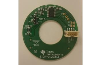 TIDA-01223 Single Layer, 180° Sinusoidal, 24V/2A Sensorless