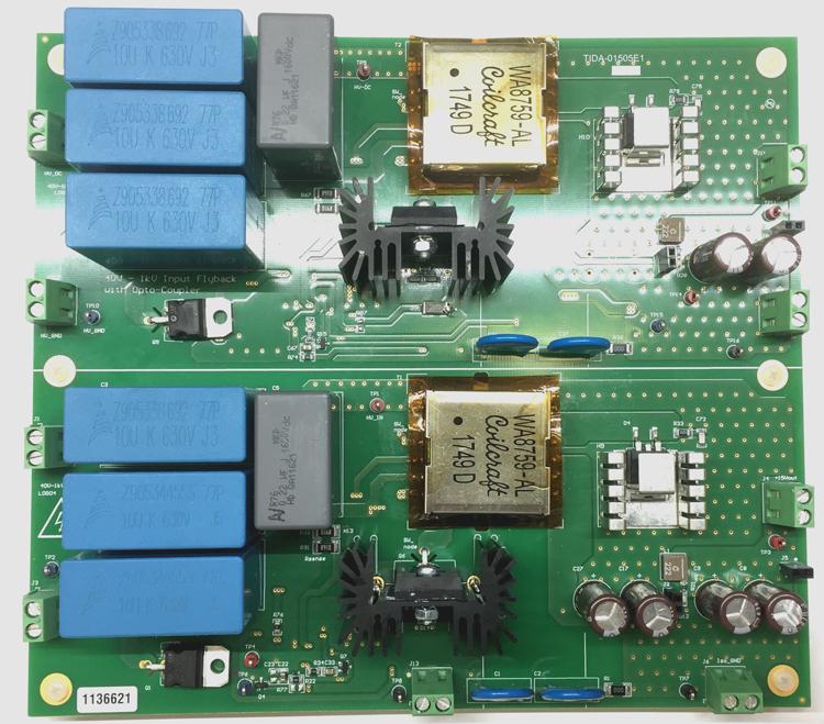 TIDA-01505 Automotive 40V to 1kV input flyback reference design