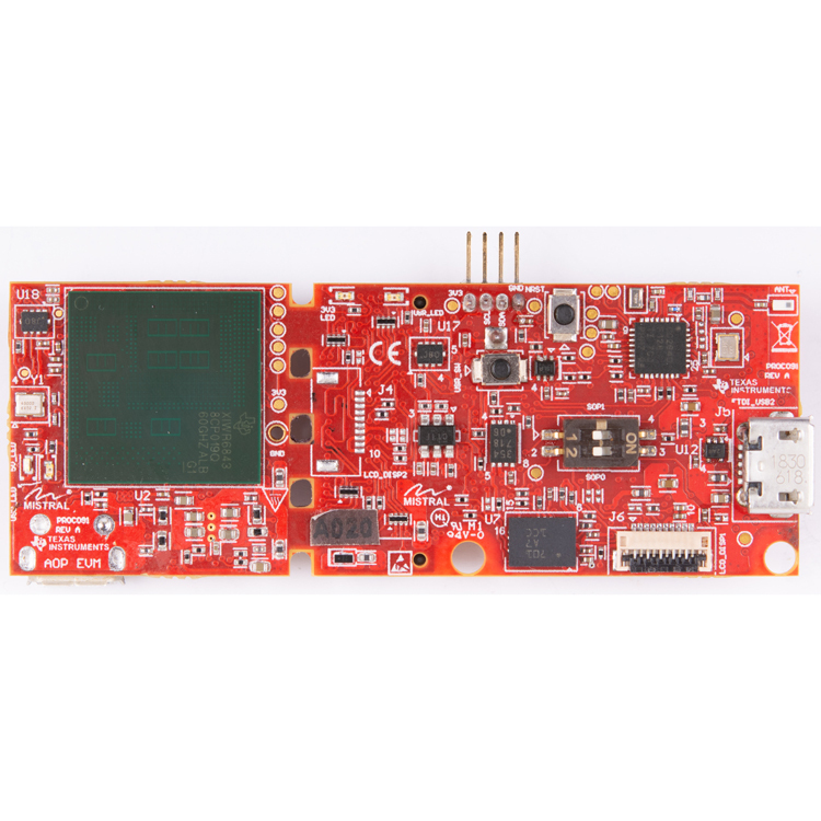 TIDEP-01010 Area scanner using mmWave Sensor with integrated antenna