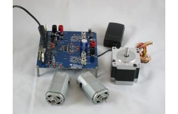 Drv8412 6a dual brushed dc or single bipolar stepper motor for Ti stepper motor driver