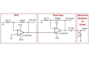 TIPD147 Noise Measurement Post-Amp for Oscilloscope or ... on