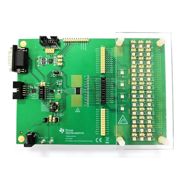 TPS929120EVM TPS929120-Q1 12-Channel automotive LED driver