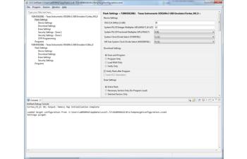 UniFlash Programming Tool screenshot