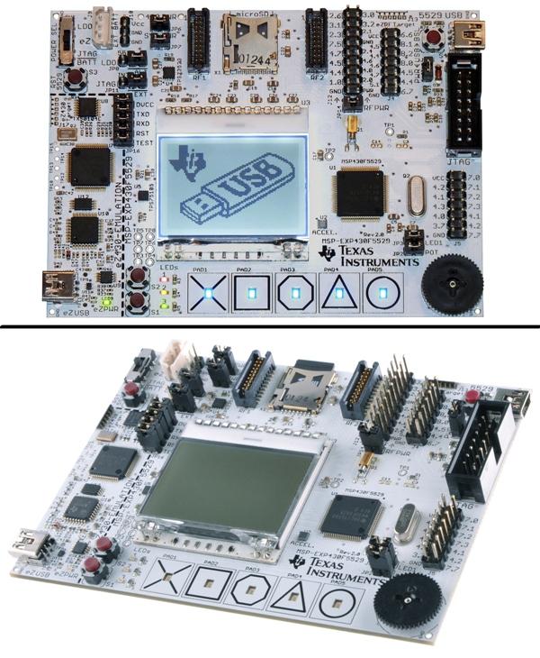 TI MSP430F5529 USB Launchpad Eval Kit