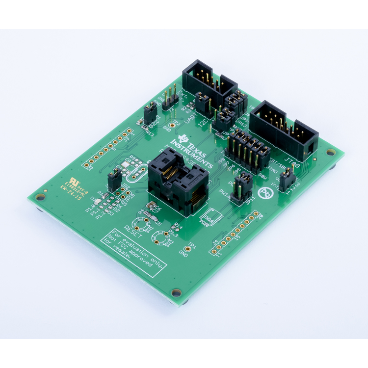 MSP-TS430PW20-MSP-TS430PW20 - 20-pin Target Development Board for MSP430FR2x MCUs (microcontroller not included) - TI store image