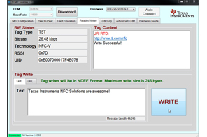TIDM-NFC-RW Near Field Communication (NFC) Reader/Writer