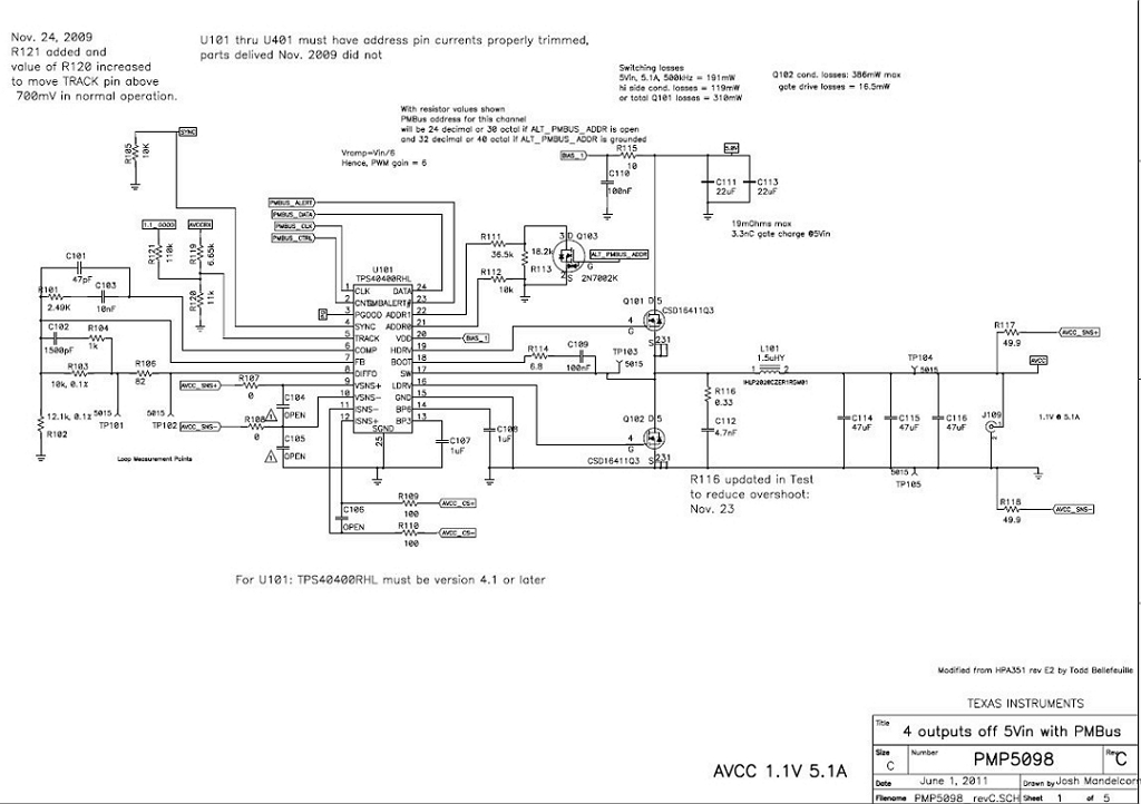 PMP5098 Power Management Reference Design for Xilinx Virtex-6 FPGAs (1.8V @  2.6A) | TI.comTexas Instruments