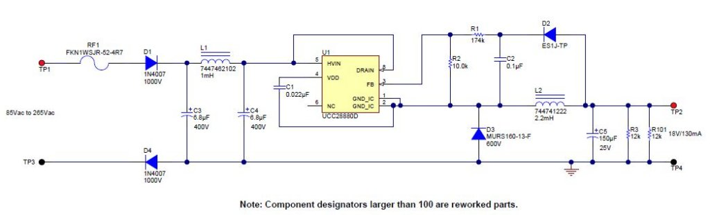pmp9073 universal ac dc non isolated buck converter 85vac 264vac rh ti com Delta Electronics Computer Power Supply Schematic Diagram Computer Power Supply Diagram