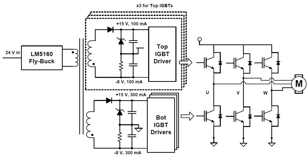 free circuit diagram of power inverter