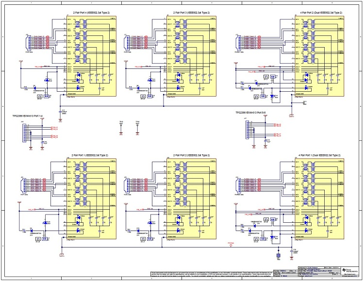 TIDA-00290 PoE PSE Type 2 (30W) IEEE 802.3at Fully Autonomous Quad on telephone schematic, microprocessor schematic, rs485 schematic, laptop schematic, camera schematic, integrated circuit schematic, headphone schematic, hard drive schematic, remote control schematic,
