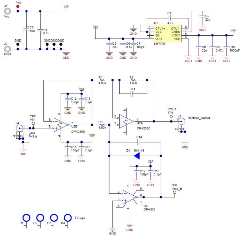 tipd124 single-supply low-input voltage optimized ... scr alarm circuit schematic diagram #5