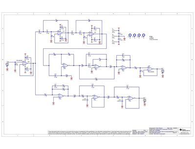 tipd134 analog, active crossover circuit for two way loudspeakersschematic block diagram