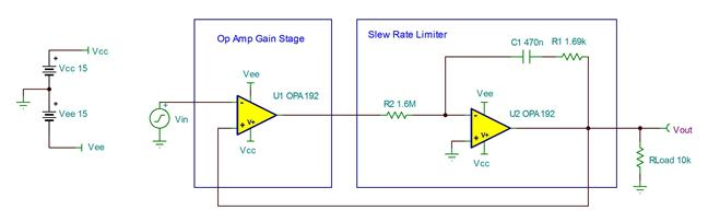 Tipd140 Single Op Amp Slew Rate Limiter Reference Design Ti