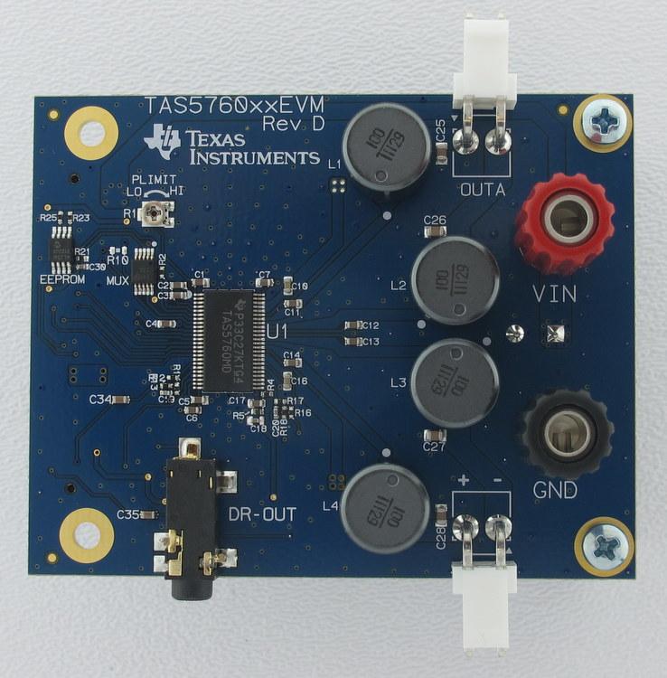 TAS5760XXEVM-TAS5760M / TAS5760MD / TAS5760L / TAS5760LD Evaluation Module - TI store image