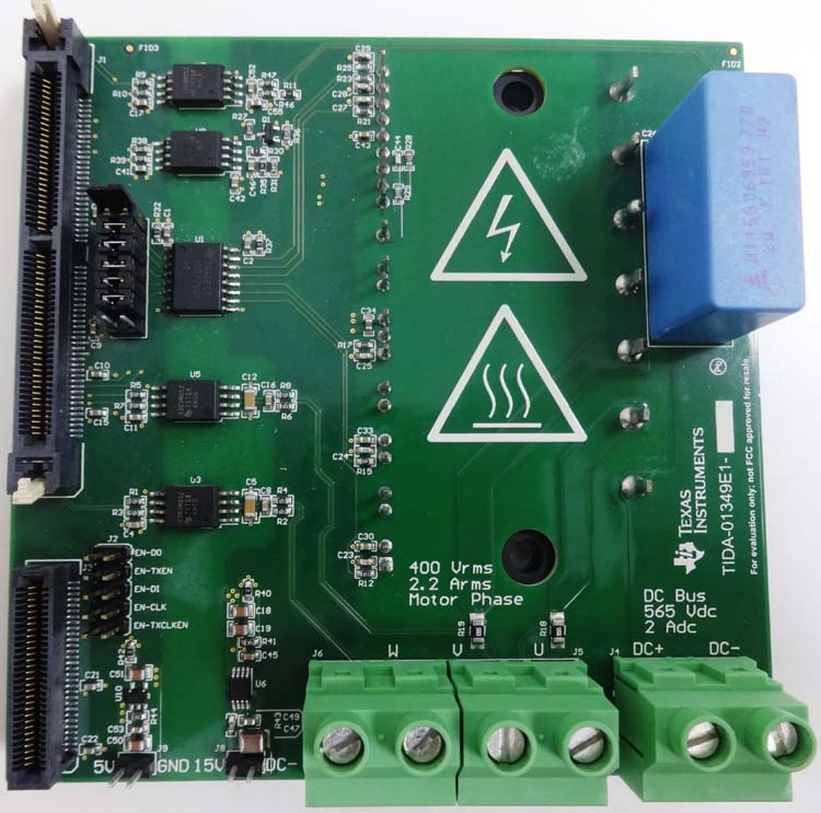 ac drive power stage module integrated circuits and reference rh ti com