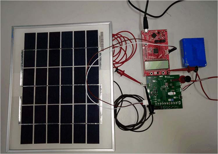 Maximum Power Point Tracking Algorithm For Low Power Solar Battery Charging Reference Design
