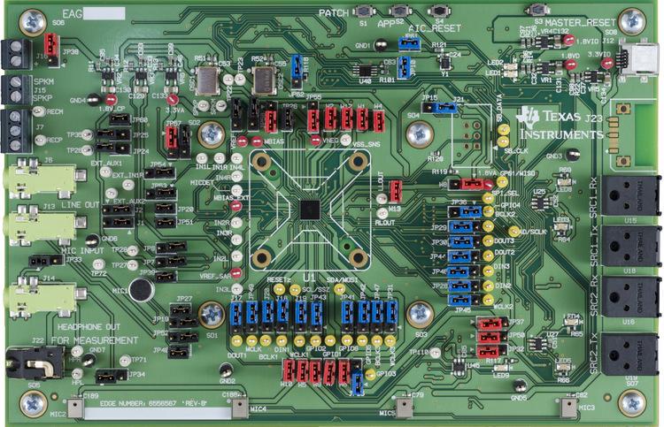 TLV320AIC3263EVM-U : TLV320AIC3263EVM-U-TLV320AIC3263 Evaluation Module - TI store image
