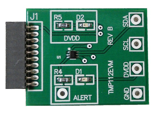 TMP112EVM-TMP112 High-Precision, Low-Power, Digital Temperature Sensor Evaluation Module - TI store image