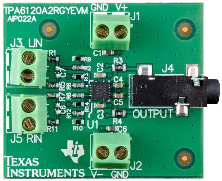 TPA6120A2RGYEVM-TPA6120A2RGY Evaluation Module - TI store image