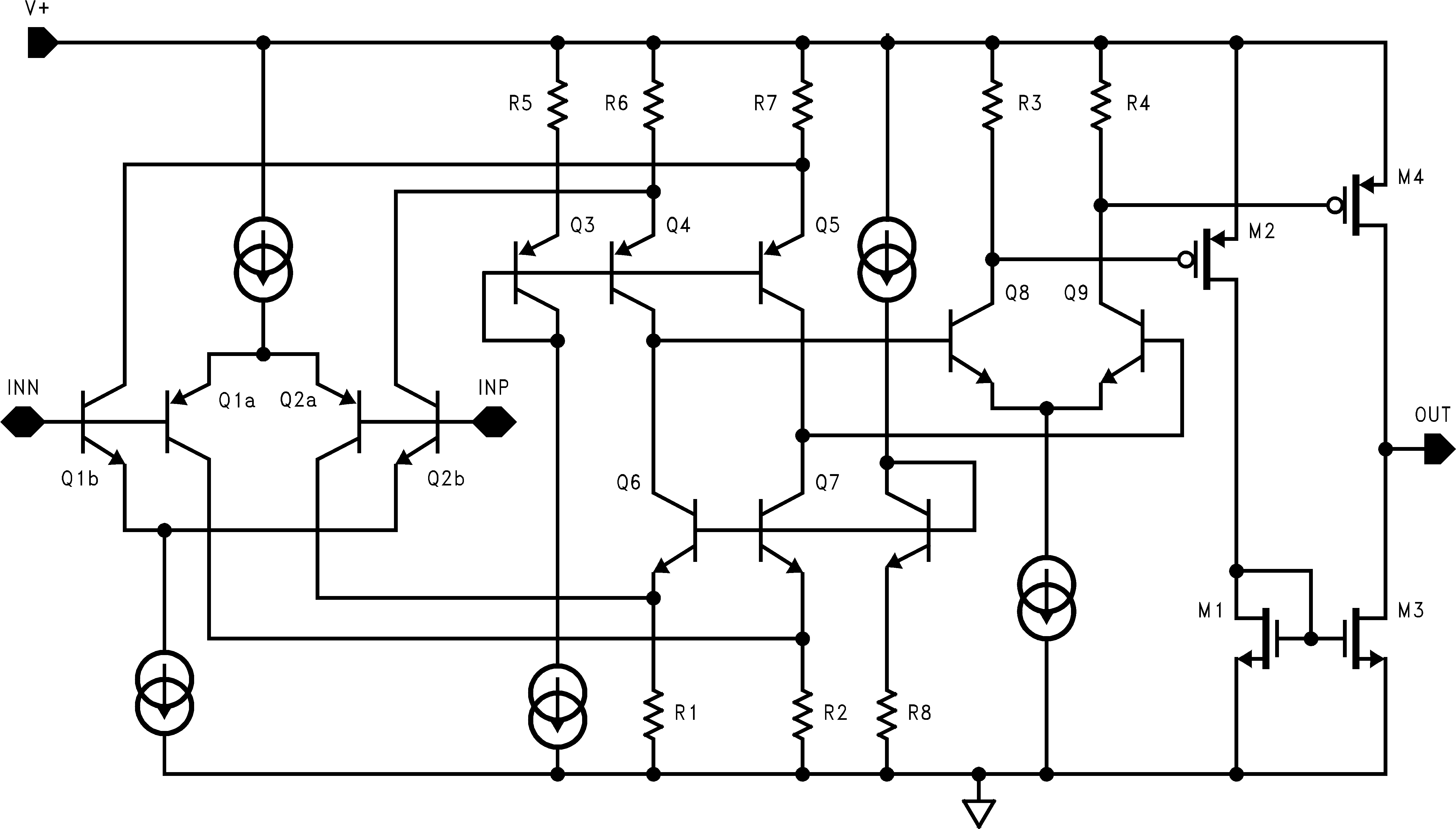 Lmv7239 Q1 75 Nsec Ultra Low Pwr Voltage Rail To Input Circuit Shown In The Following Schematic Diagram Click Enlarge Expand Contents