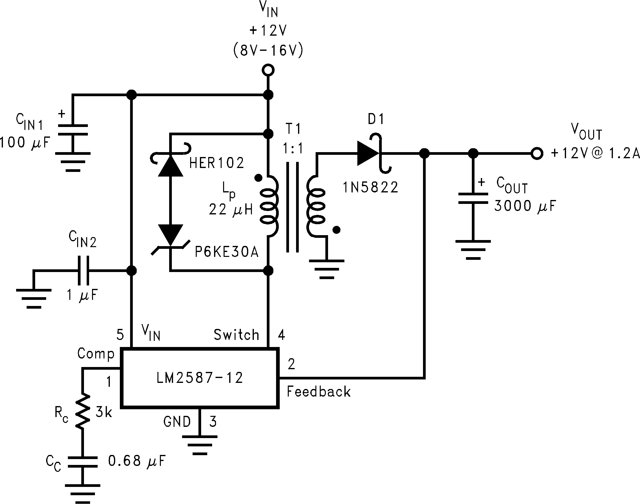Ampere Or Current Booster Circuit