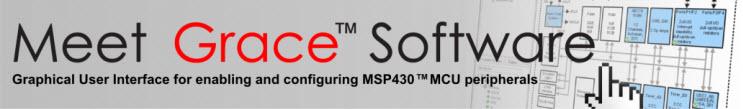 GRACE MSP430 Software