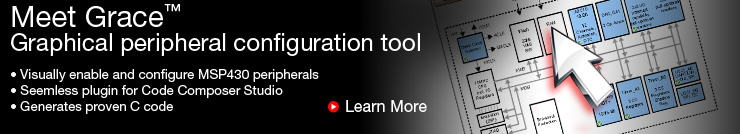 Meet Grace - Graphical peripheral configuration tool - TI.com