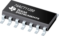 Datasheet Texas Instruments 74ACT11280DR